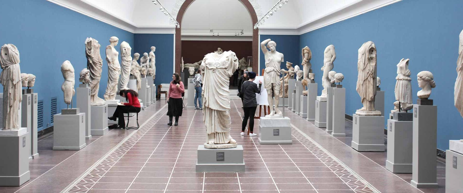 Ancient sculpture tour